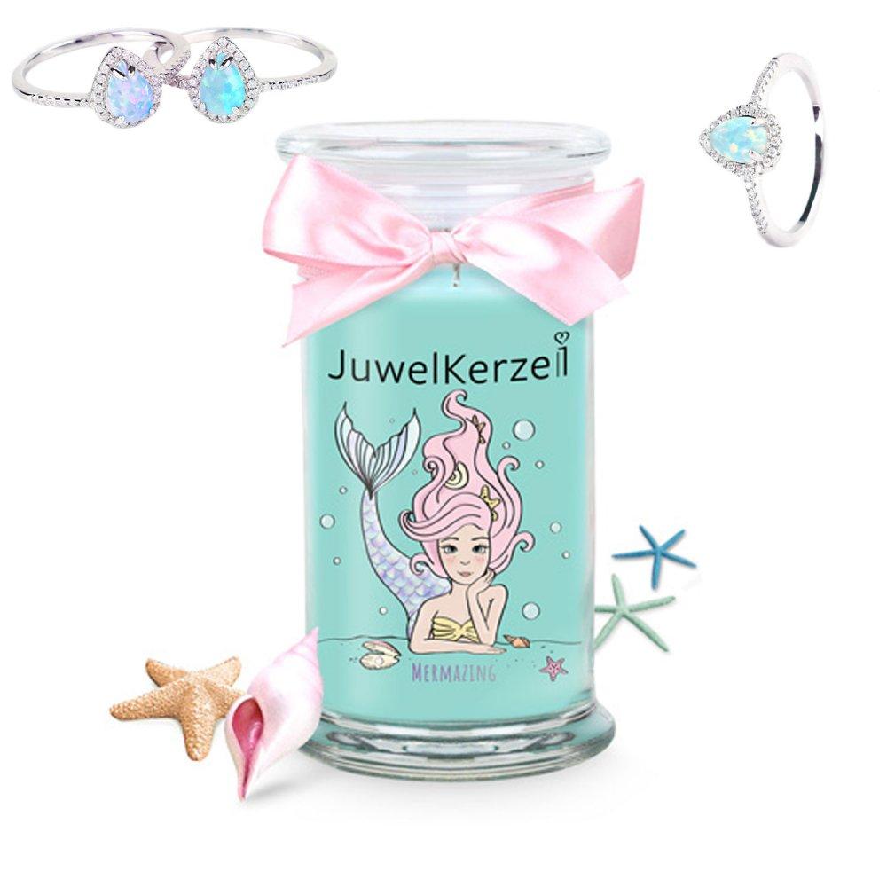 Juwelkerze Mermazing mit Ring Special Edition -...