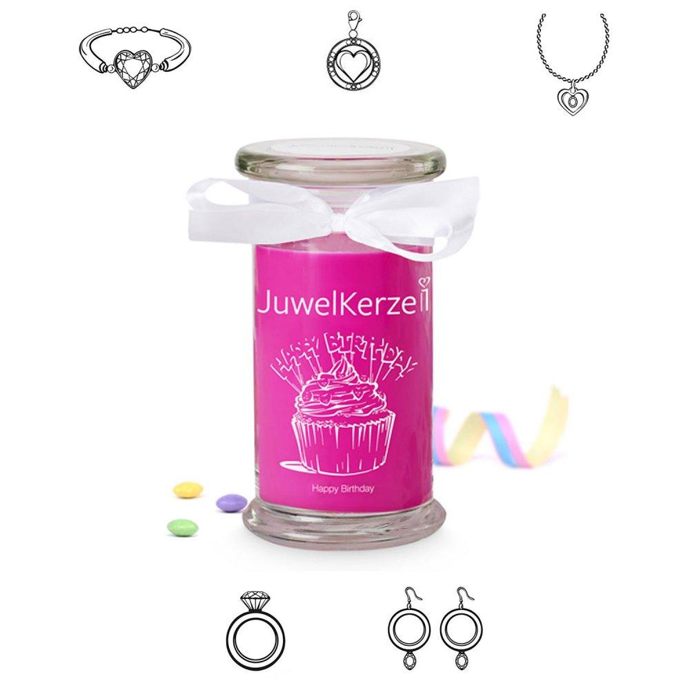 Juwelkerze Happy Birthday Classic Edition - ver...