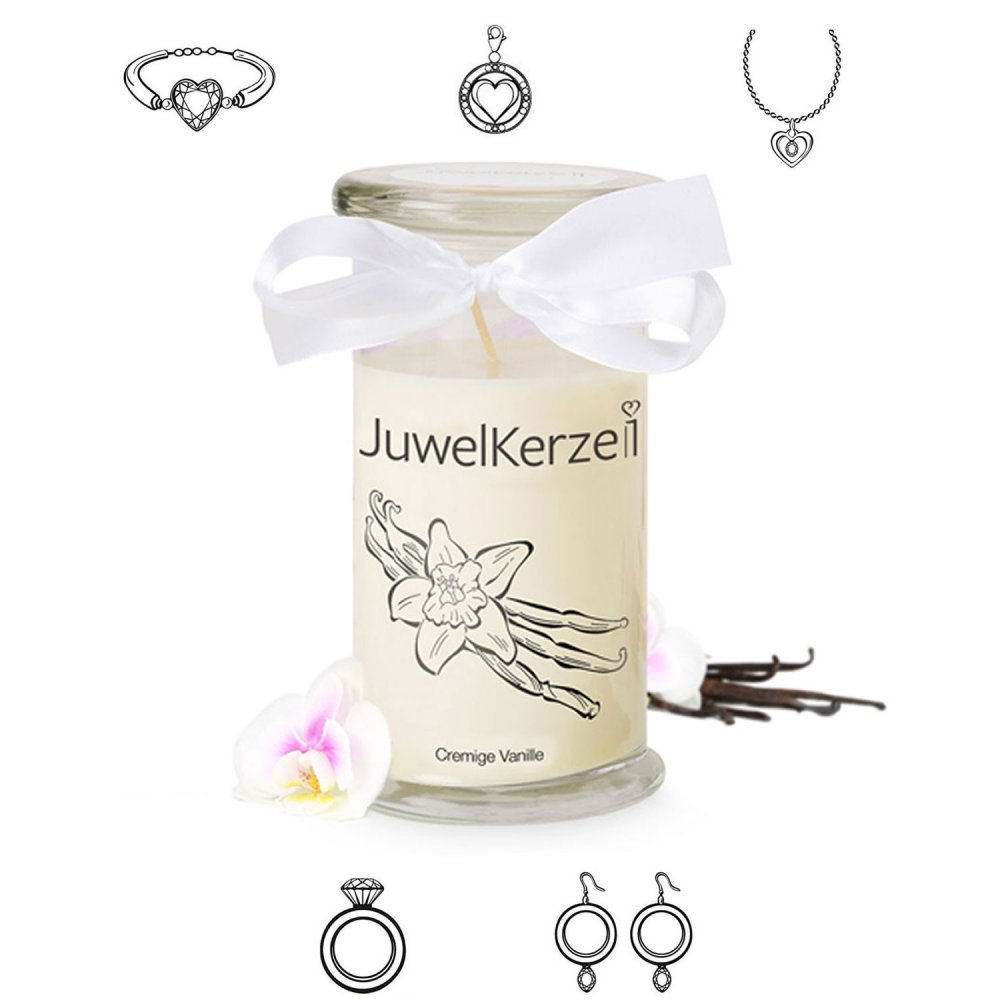 Juwelkerze Cremige Vanille Classic Edition - ve...