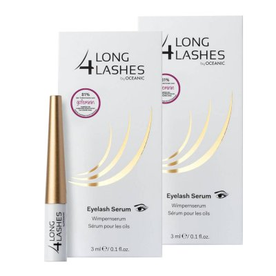Long4Lashes FX5 Wimpernserum Wimpern 2 x 3 ml by Oceanic Eyelash Serum SET