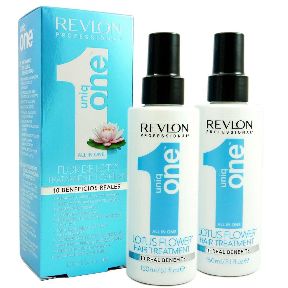 2 X Revlon Uniq One Lotus Flower Hair Treatment 150 Ml Bei Pillashop