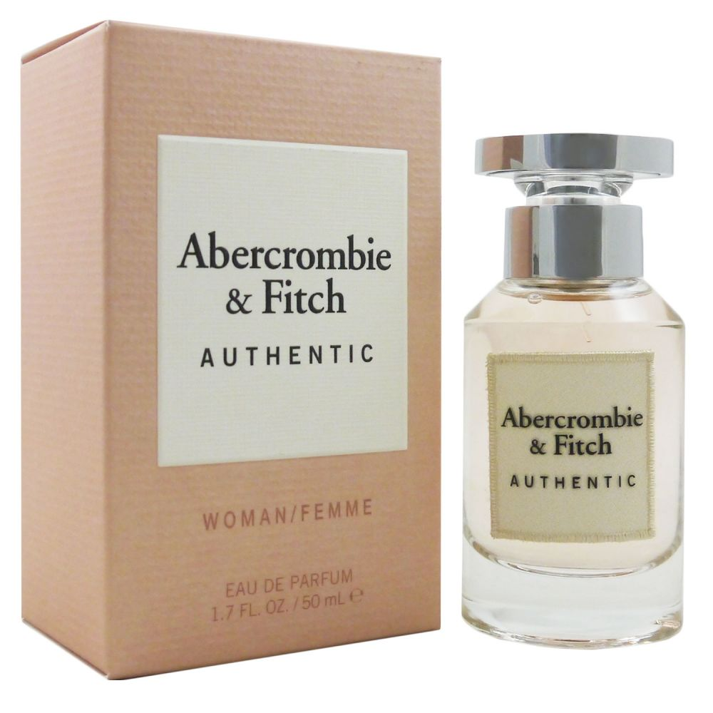 Abercrombie & Fitch Authentic Woman 50 ml Eau de Parfum EDP NEU OVP 2019