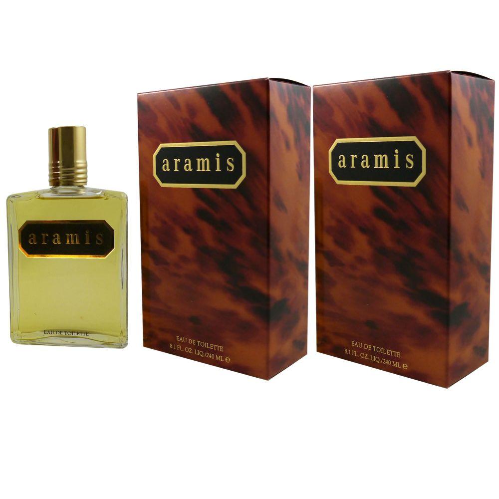 Aramis Classic 2 x 240 ml Eau de Toilette EDT Splash Set