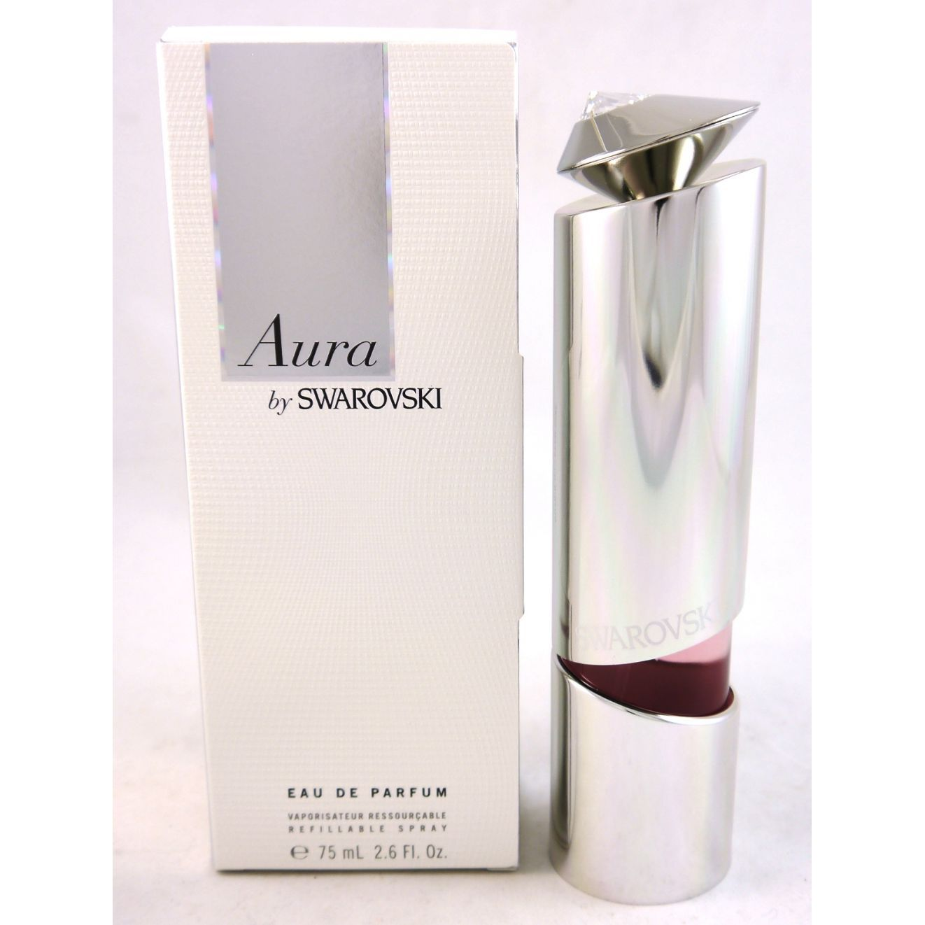 Aura by Swarovski 75 ml Eau de Parfum EDP Spray nachfüllbar refillable
