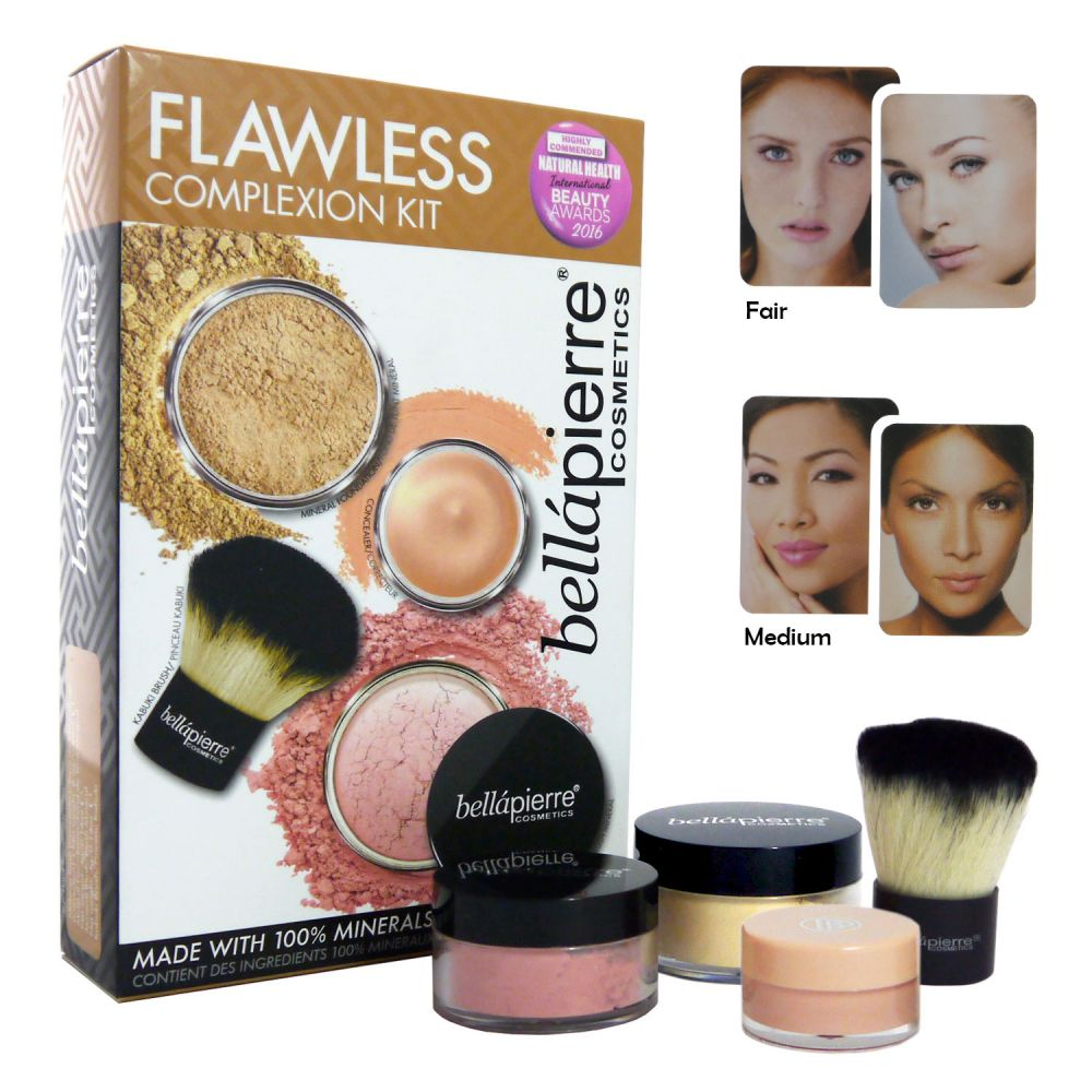 bellapierre cosmetics flawless complexion kit farbwahl. Black Bedroom Furniture Sets. Home Design Ideas