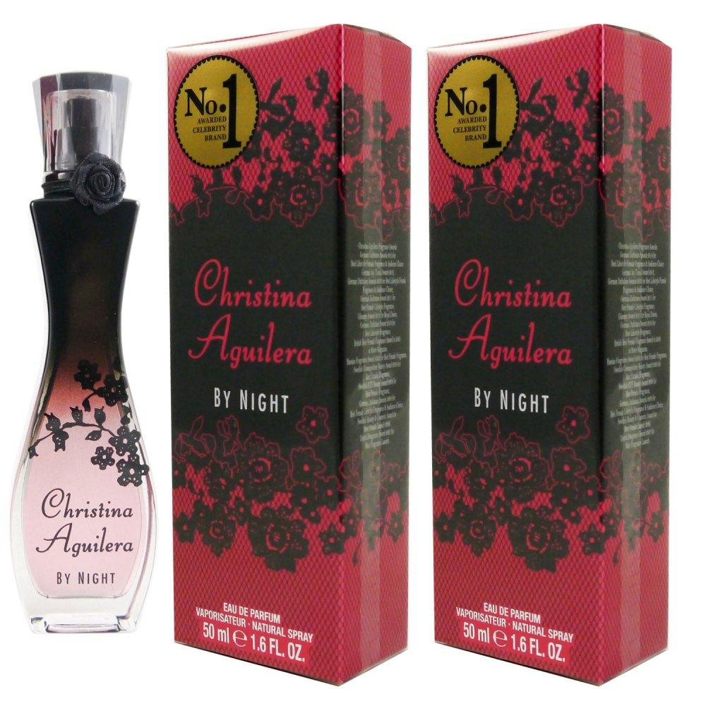 Christina Aguilera by Night 2 x 50 ml Eau de Parfum EDP Set