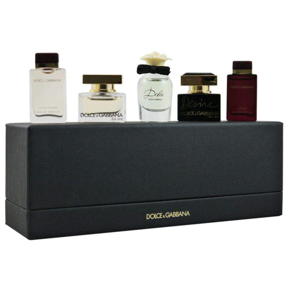 5x5 Ml The Gabbana Set Dolceamp; Femme De Miniatures Eau Edp Parfum One Desire QrthdCs
