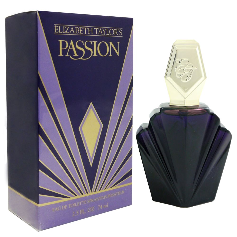 Elizabeth Taylor Passion 74 ml Eau de Toilette EDT