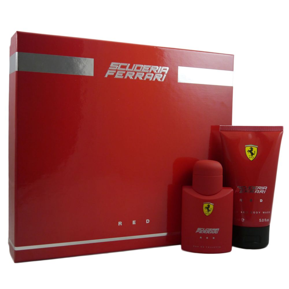 hot sale online 70eda bf092 Ferrari Scuderia Red Eau de Toilette 75 ml EDT & Duschgel 150 ml