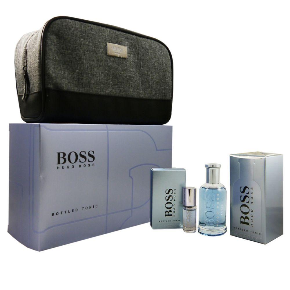 Hugo Boss Boss Bottled Tonic Set 100 ml Eau de Toilette EDT   8 ml EDT ... f7f560ec3d6