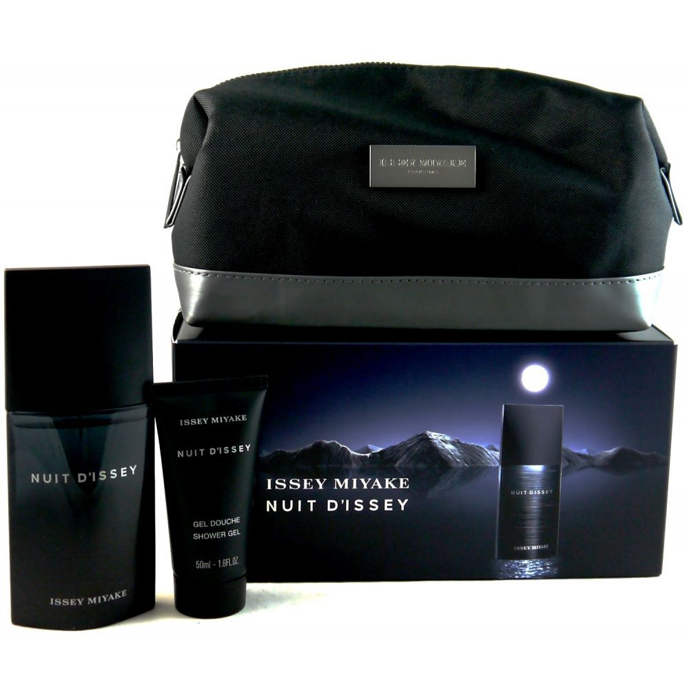 issey miyake nuit d 39 issey set 75ml edt 50ml dg. Black Bedroom Furniture Sets. Home Design Ideas