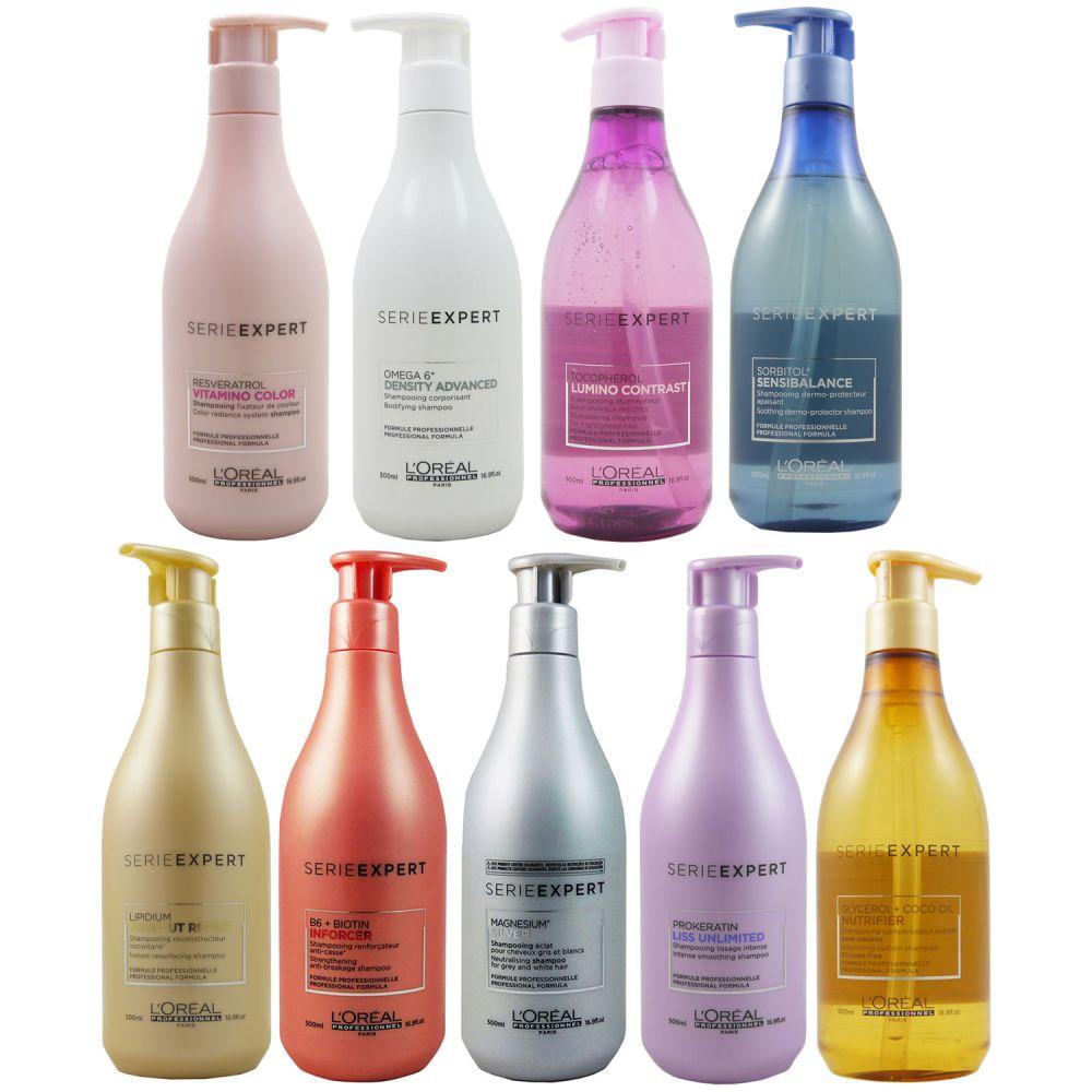 Loreal Expert Shampoo 500 Ml Verschiedene Varianten Bei Pillashop