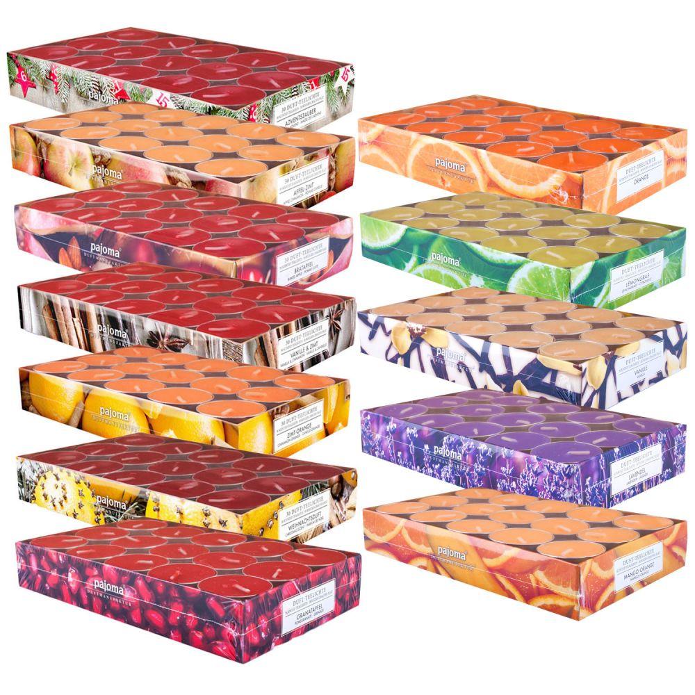 Pajoma Teelichte 3 x 30 Duftkerzen Weihnachten - verschiedene Sorten ...