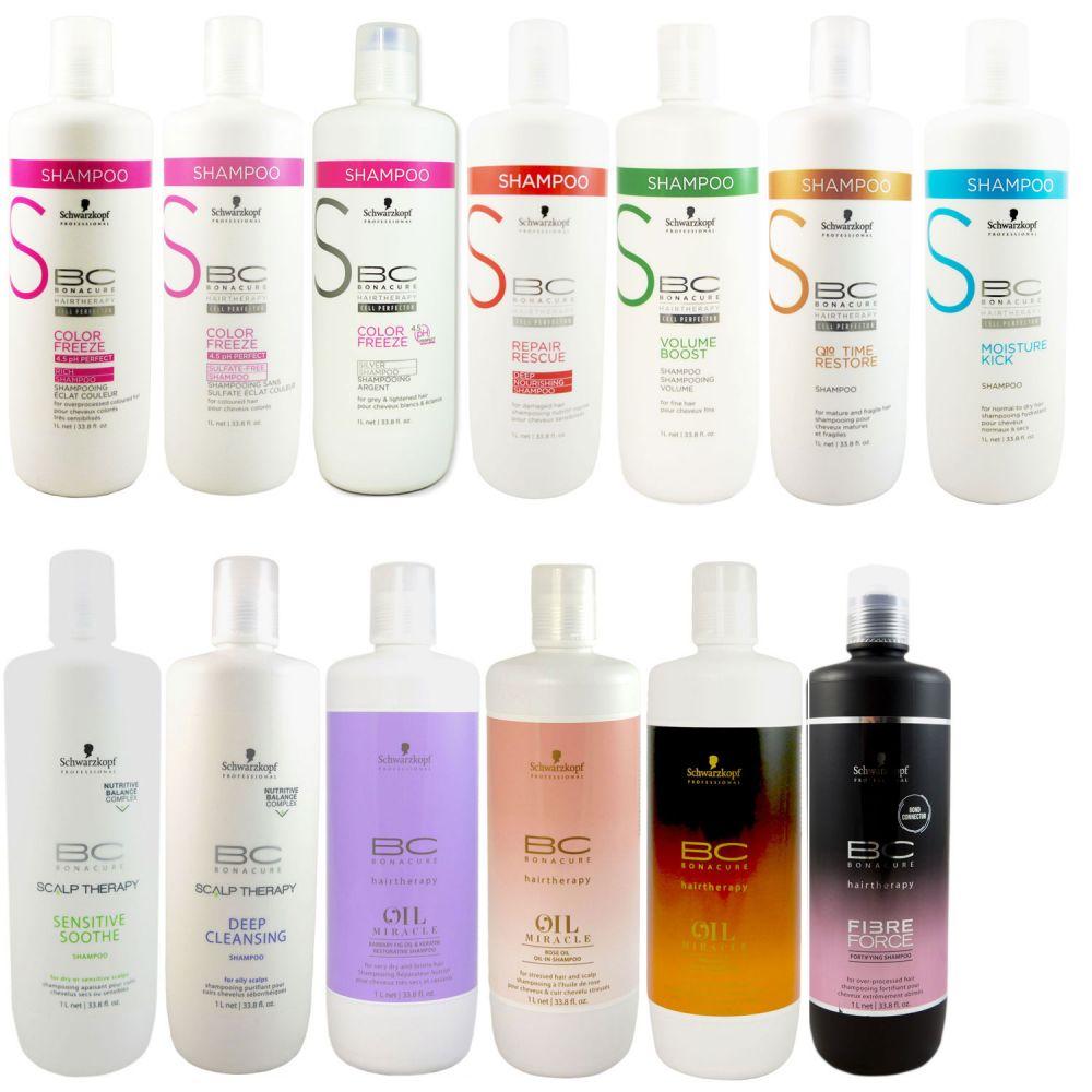 Schwarzkopf Bc Bonacure Shampoo 1000 Ml Verschiedene Sorten Bei